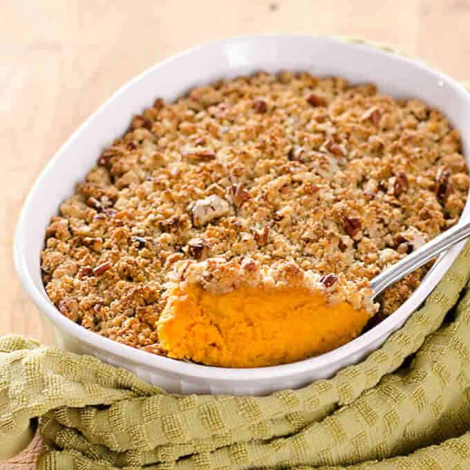 Sweet Potato Casserole | Paleo, gluten-free, grain-free recipe