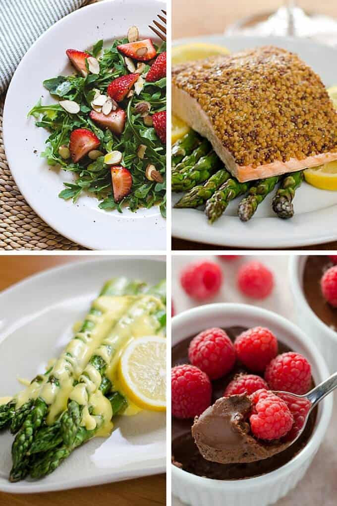 Easy Paleo Valentine's Day Dinner Menu - Paleo Valentine's Day dinner recipes that are easy to make, but taste like you're indulging. And of course, they're all gluten-free, grain-free and paleo. | Cook Eat Paleo