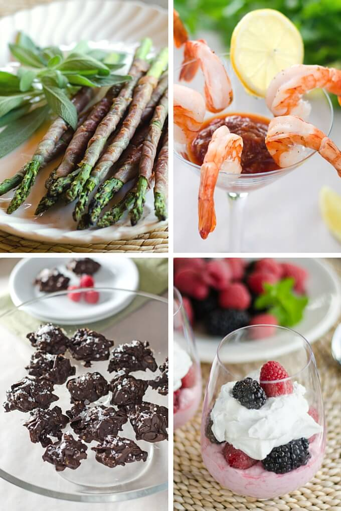 10 Red Carpet Party Bites That are Paleo-Friendly - Each of these hors d'oeuvres and desserts can be eaten with your fingers or served in a fancy glass. Perfect for any red carpet event. | Cook Eat Paleo