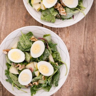 Walnut Pear Bacon Salad Square Image