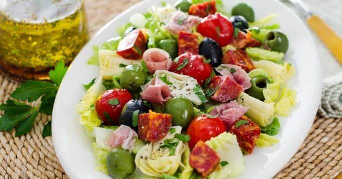 Antipasto Salad | Cook Eat Paleo