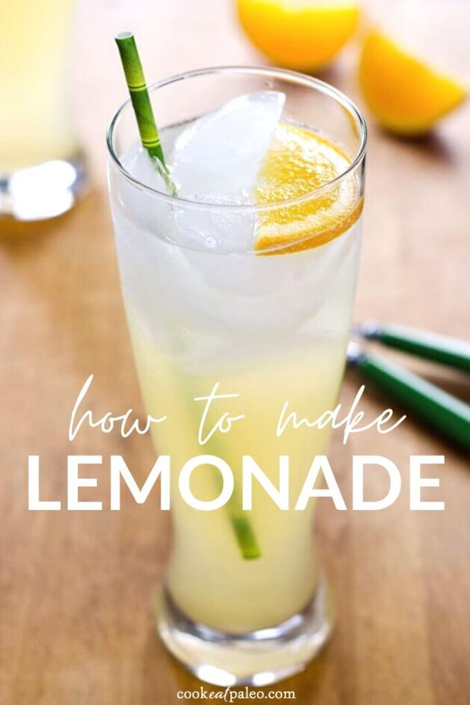 Easy Lemonade Recipe with Honey