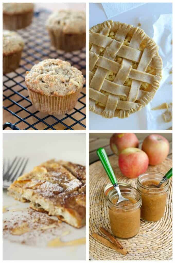 Easy healthy apple recipes for gluten-free versions of all your fall favorites - from a classic apple pie to apple crisp to easy slow cooker applesauce. | Cook Eat Paleo