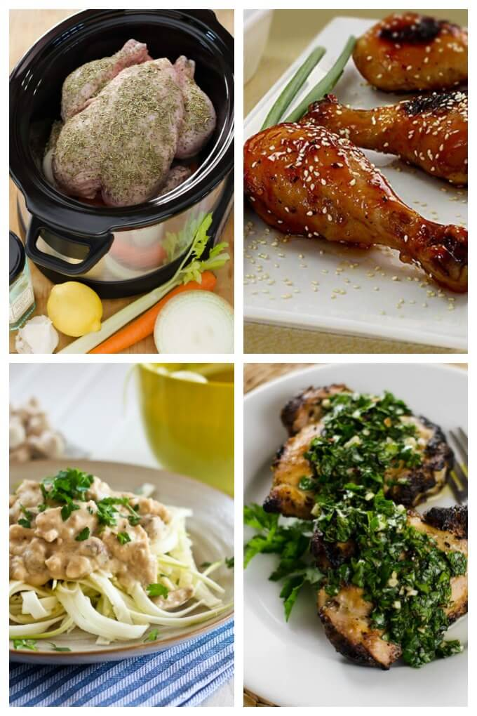 Paleo Chicken Dinner Recipes - Easy paleo chicken recipes that let you enjoy all of your favorite chicken dinners again. Gluten free and dairy free, these healthy chicken dinners are just what you have been looking for. | Cook Eat Paleo