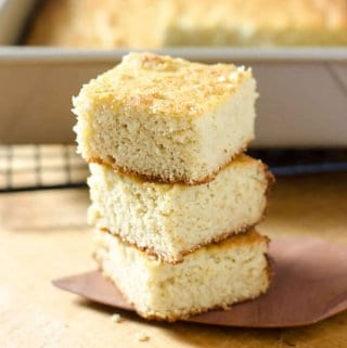 Paleo Cornbread Recipe (Gluten Free, Grain Free)