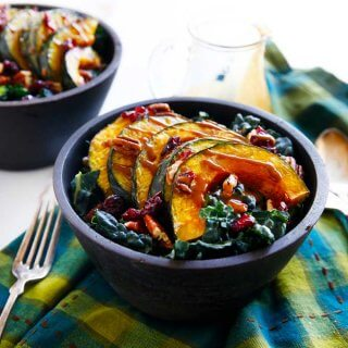 Winter Harvest Salad with Maple Balsamic Dressing