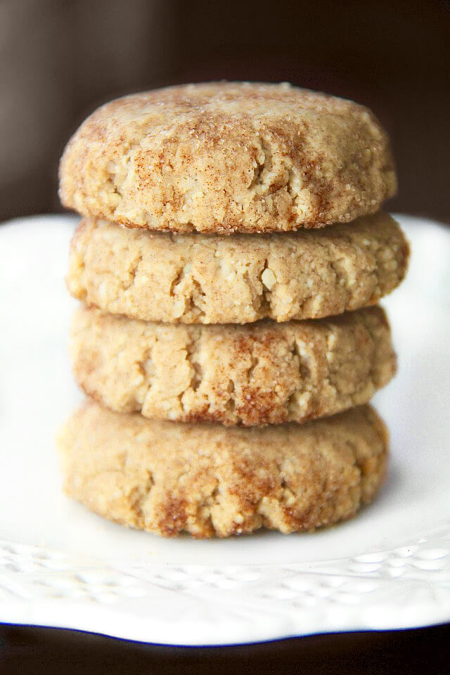 Grain Free Snickerdoodles – Running With Spoons | Christmas cookies | vegan | paleo | gluten free | dairy free