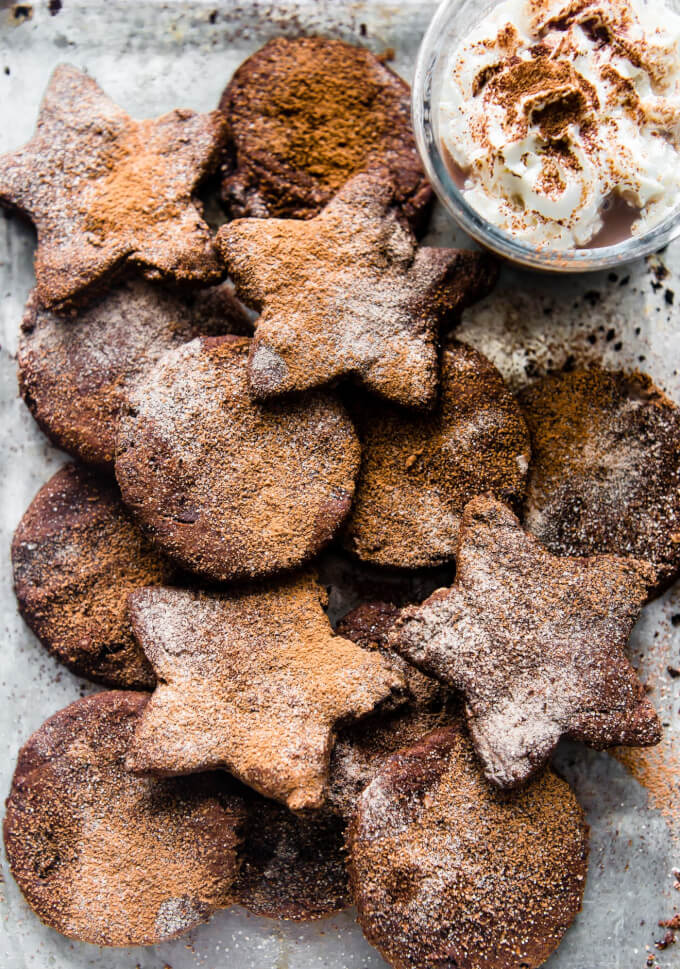 Mexican Hot Chocolate Sugar Cookies (Vegan, Paleo) – Cotter Crunch | Christmas cookies | vegan | paleo | gluten free | dairy free