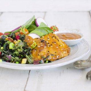 Maple Sesame Glazed Chicken
