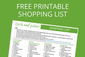 HOW TO STOCK A PALEO PANTRY