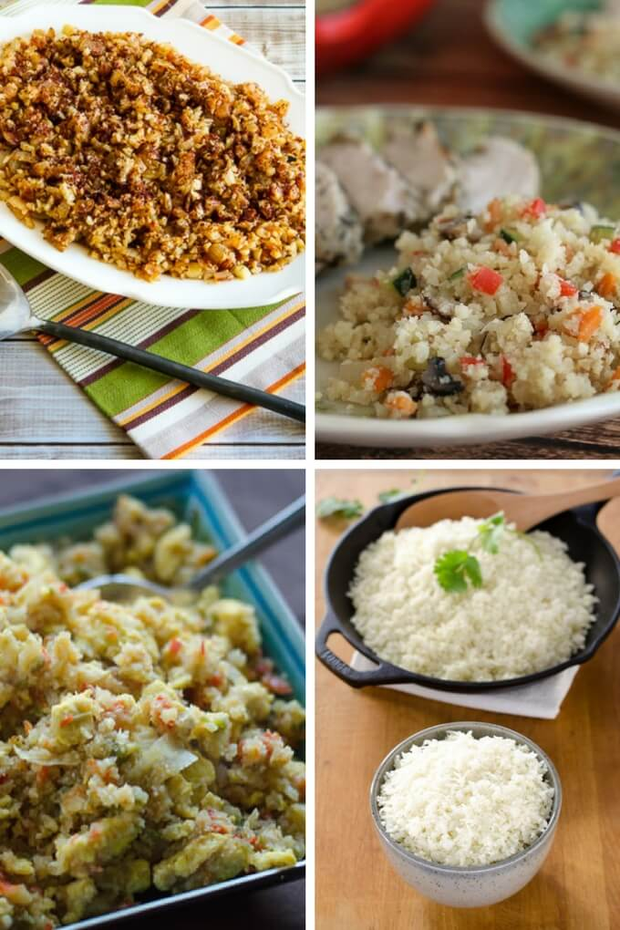 Cauliflower rice recipes make the perfect grain-free side dish for any meal. It's easy to make and takes less time to cook than traditional white rice. | Gluten-free, grain-free, low carb, keto, paleo recipes