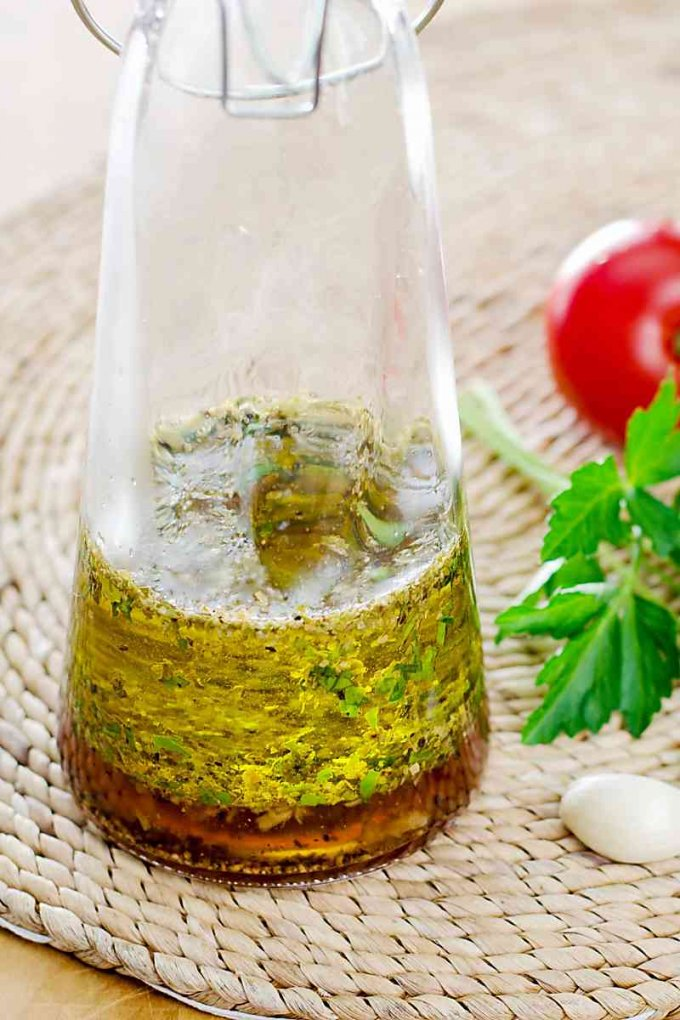 Easy keto salad dressing