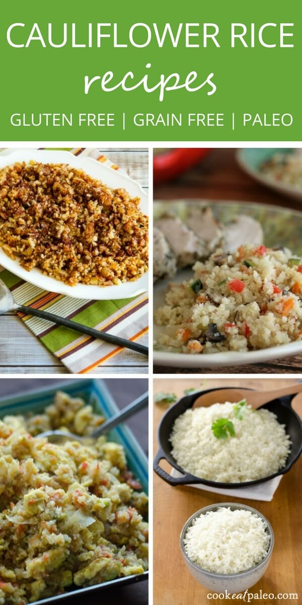 Cauliflower rice makes the perfect grain-free side dish for any meal. It's easy to make and takes less time to cook than traditional white rice. | Gluten-free, grain-free, low carb, keto, paleo recipes