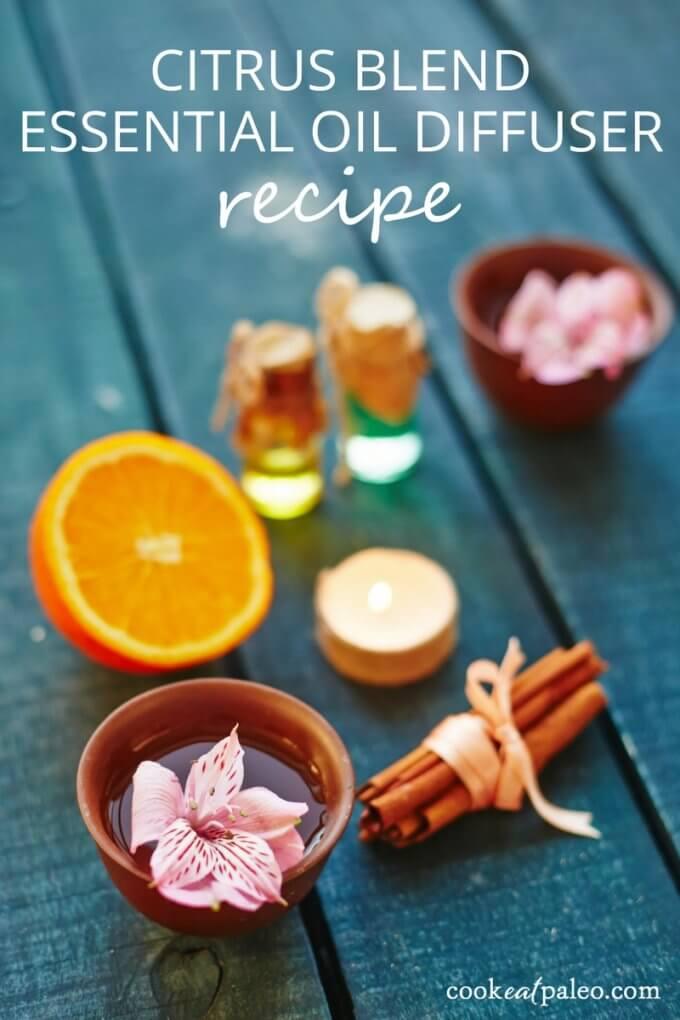 Citrus Blend Essential Oil Diffuser Recipe