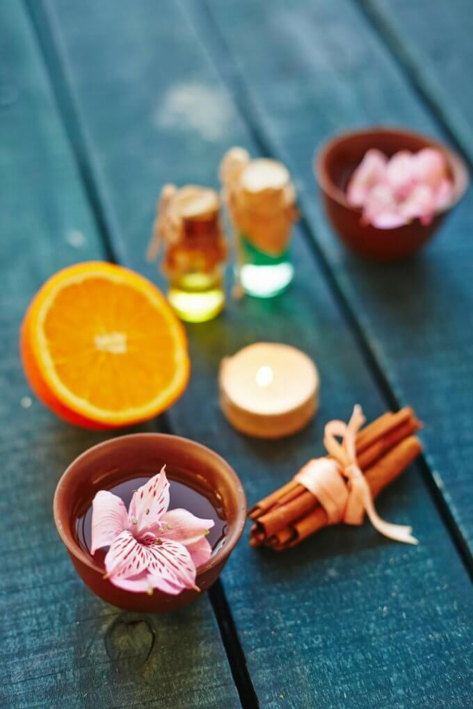 Orange Essential Oil Diffuser Recipe