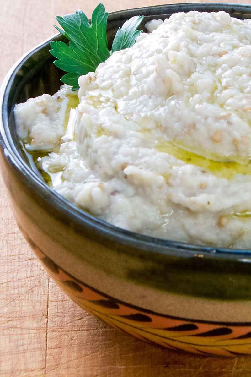 Roasted Garlic Baba Ganoush (Paleo, Keto, Whole30)