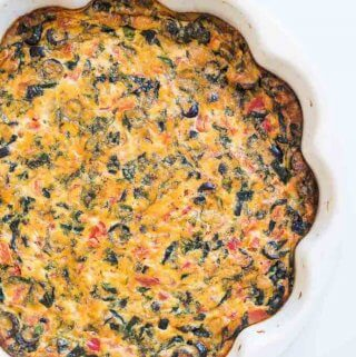 Bacon & Olive Quiche Recipe (Keto and Paleo)