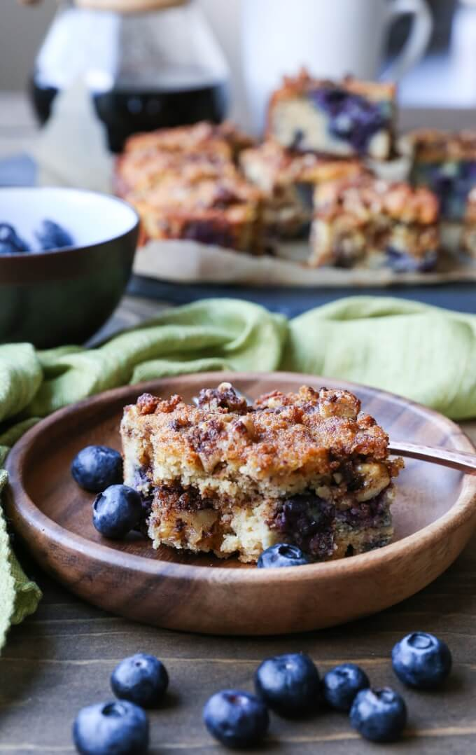 Blueberry Coffee Cake - The Roasted Root