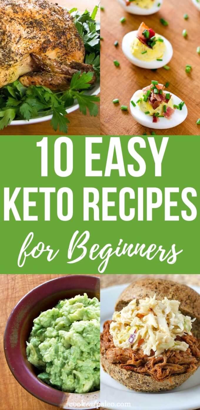 10 Easy Keto Recipes For Beginners