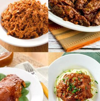 30 Whole30 Slow Cooker Dinners (Paleo, Gluten Free)
