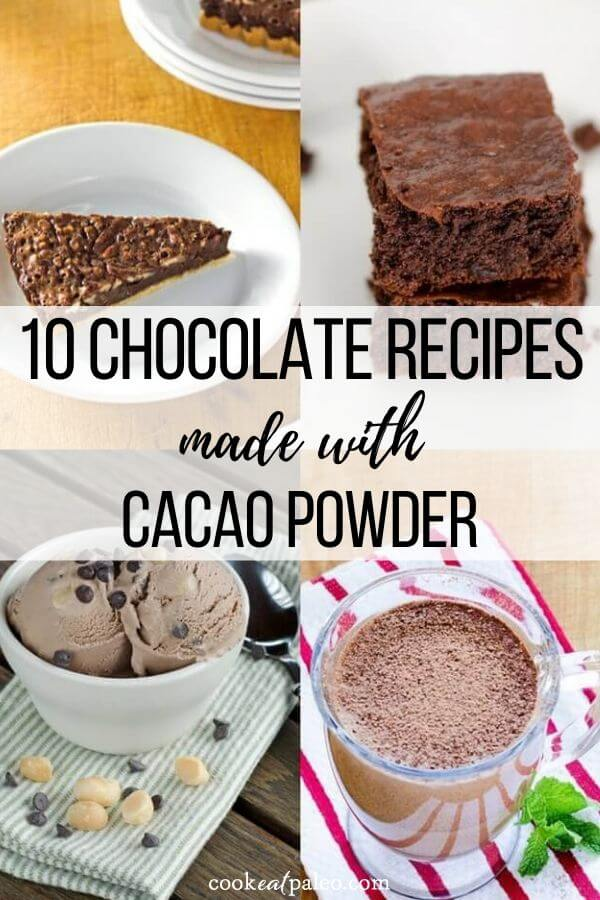 10 Chocolate Recipes Made with Cacao Powder