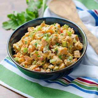 Roasted Sweet Potato Salad (Paleo, Whole30)