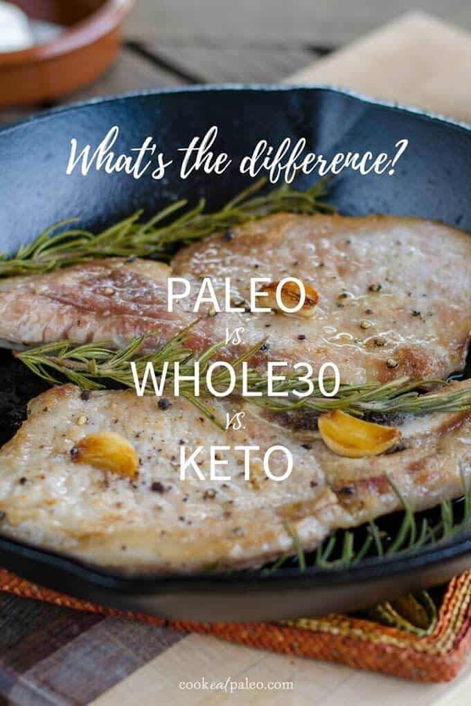 What's the difference? Paleo vs. Whole30 vs. Keto