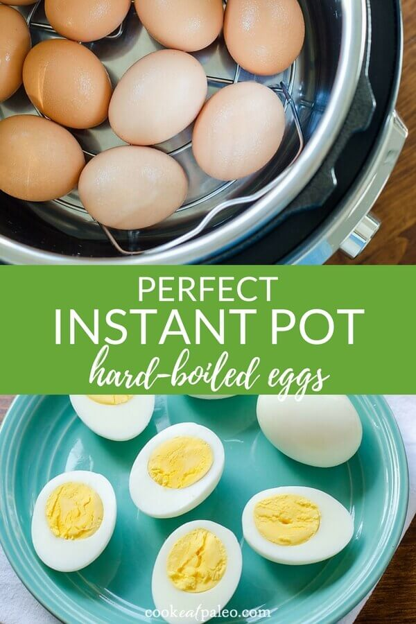 Instant Pot hard boiled eggs are the easiest way to hard cook eggs so they peel perfectly every time! Once you hard boil eggs in the Instant Pot, you'll never go back to using the stove top. Here's how to make hard-boiled eggs using the Egg Function on Instant Pot Lux, Duo Plus, and Ultra.