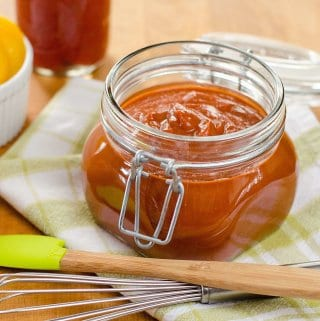 Sugar Free BBQ Sauce (Paleo, Keto, Whole30)