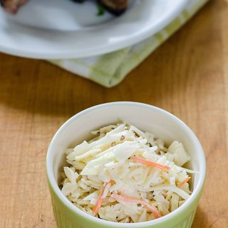 Easy Coleslaw Recipe (Paleo, Low Carb, Keto)