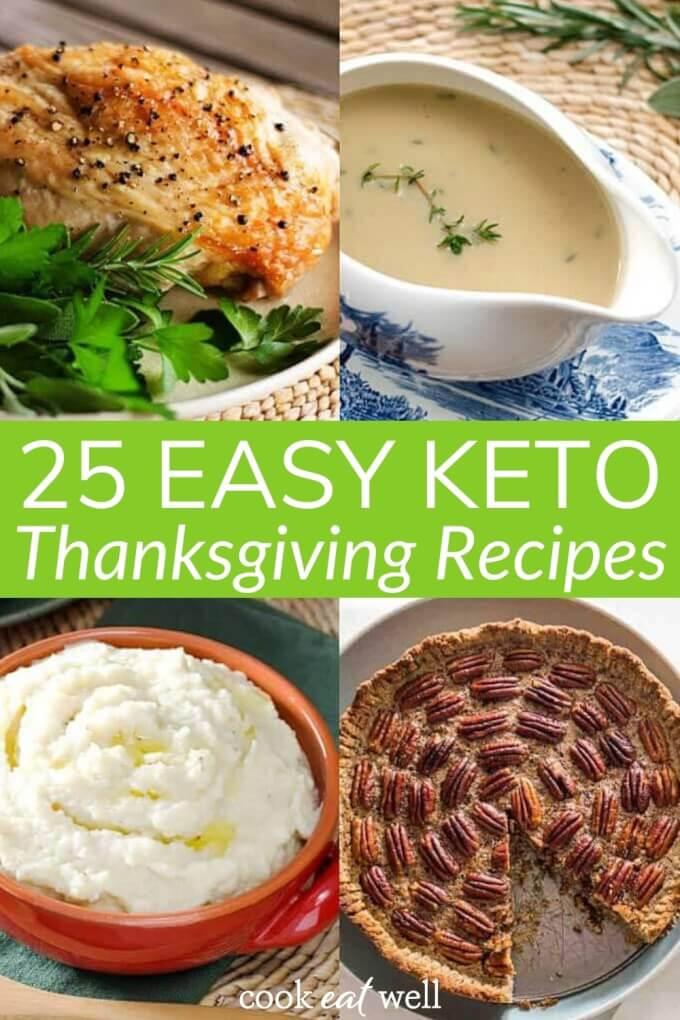 25 Easy Keto Thanksgiving Ideas (Including Stuffing & Dessert!)