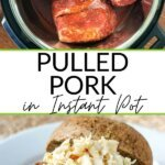 Pulled pork in Instant Pot