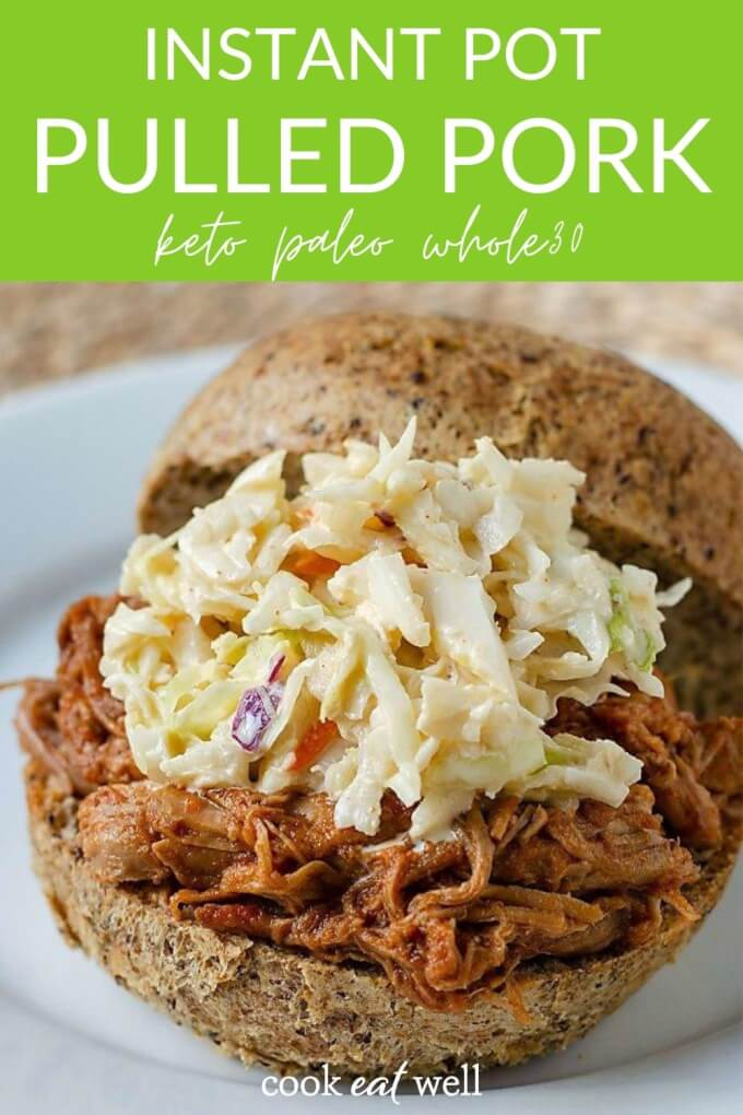 The Easiest Instant Pot Pulled Pork (Keto, Paleo, Whole30)