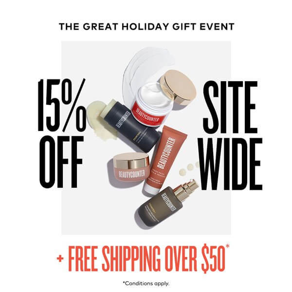 15% Off Site Wide - Beautycounter Black Friday Sales