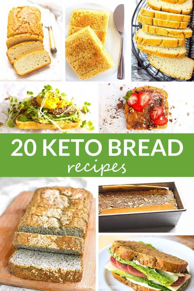 20 Easy Keto Bread Recipes for Sandwiches and More