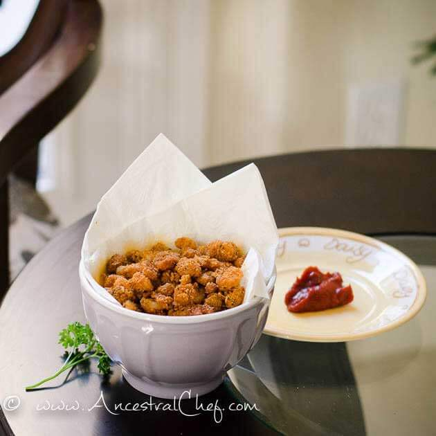 Paleo/GF Popcorn Shrimp Recipe from Paleo Flourish