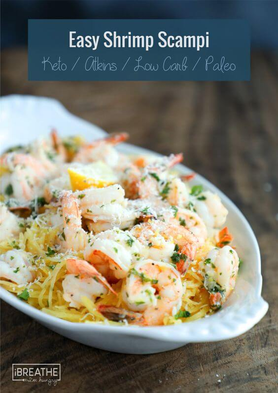 Easy Shrimp Scampi from I Breathe I'm Hungry