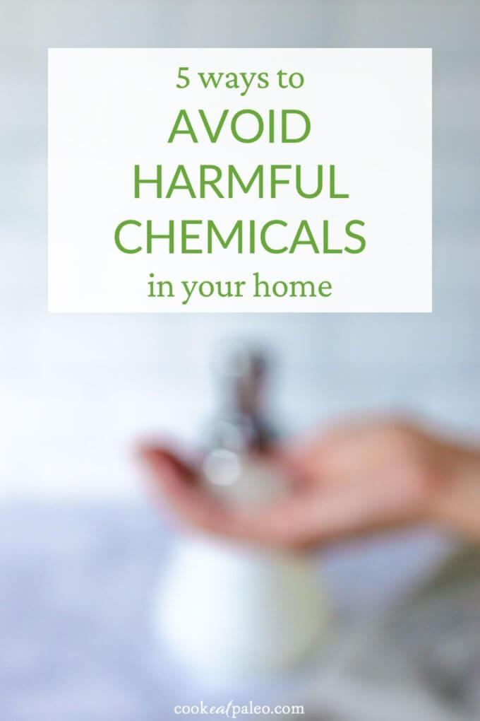 5 ways to avoid harmful chemicals in your home - hand soap
