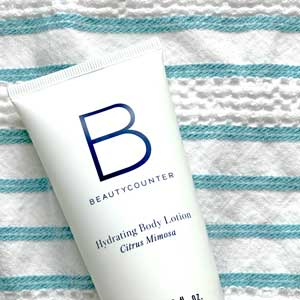 Beautycounter citrus body lotion