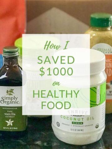 how to save on paleo keto food
