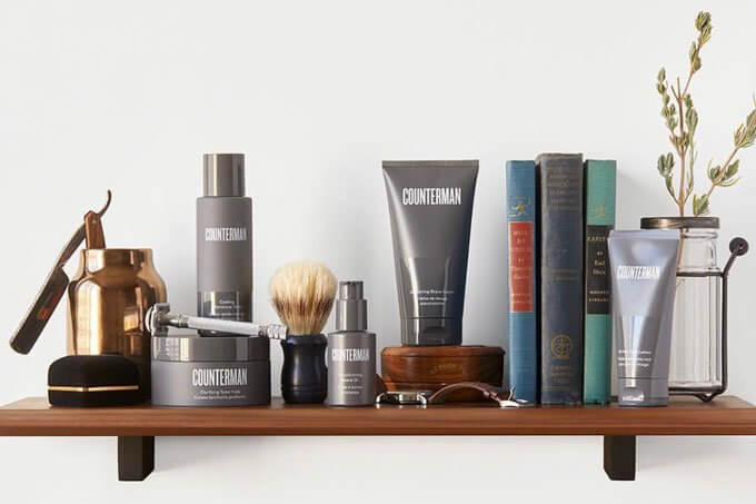 Counterman Beard, Shave & Skincare Collection Gift for Dad