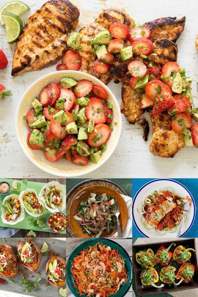 7 days of eMeals paleo meal plan recipes