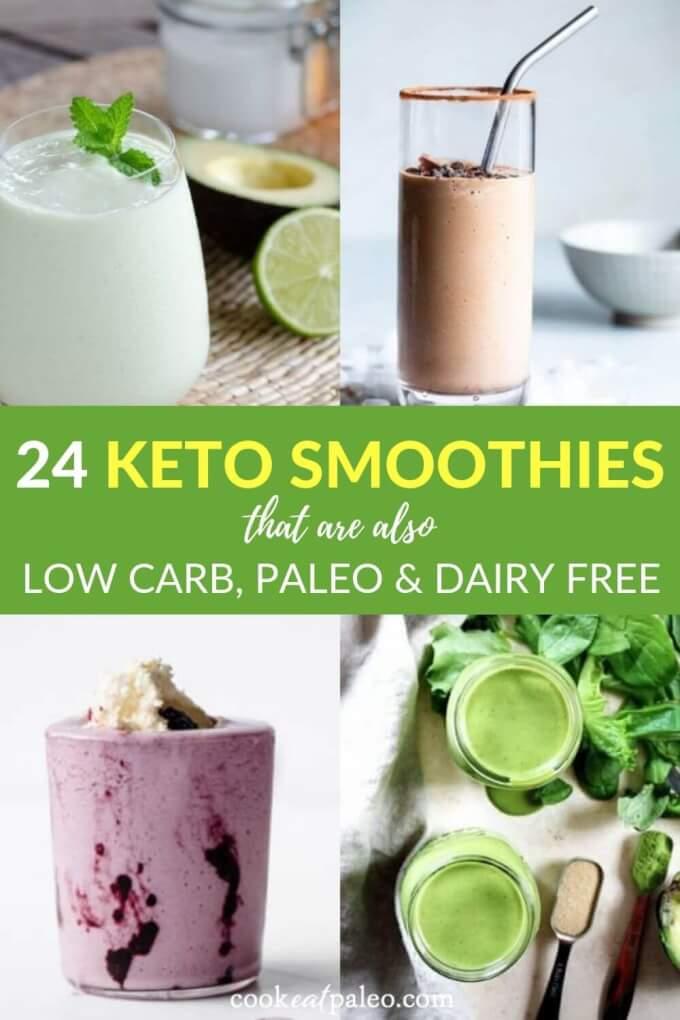24 Quick Keto Smoothies to Kickstart Your Day