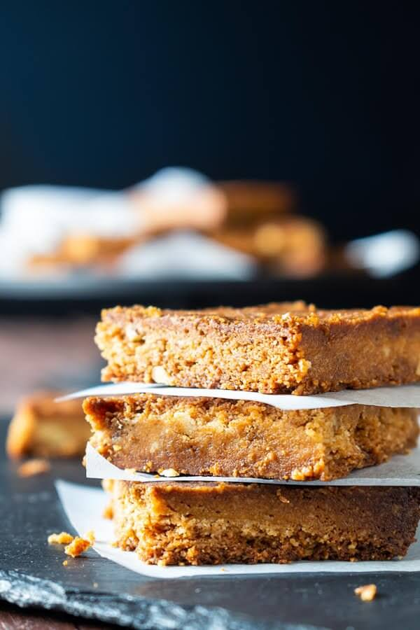 Maple blondie squares