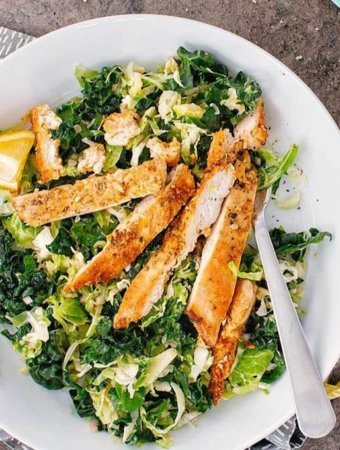 Easy Keto Meal Plan Tips - Chicken Salad - Cook Eat Paleo