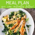 How to create a healthy meal plan you can actually follow