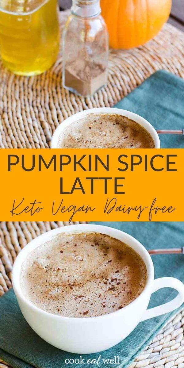 Pumpkin Spice Coconut Milk Latte (Keto, Vegan, Paleo)