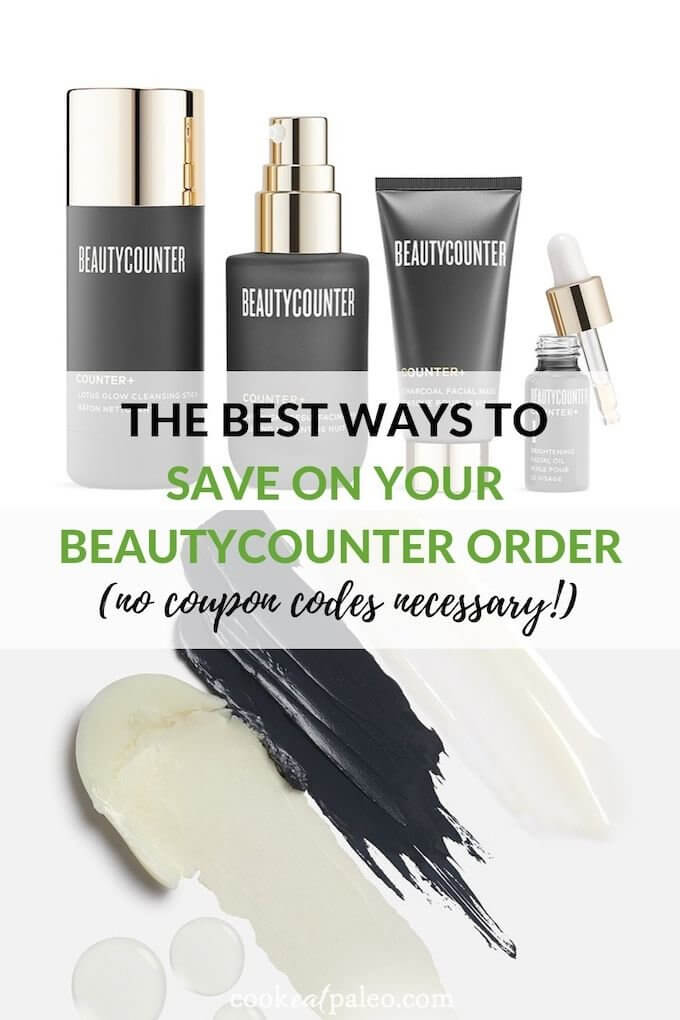 how to save without a beautycounter coupon code - cook eat paleo
