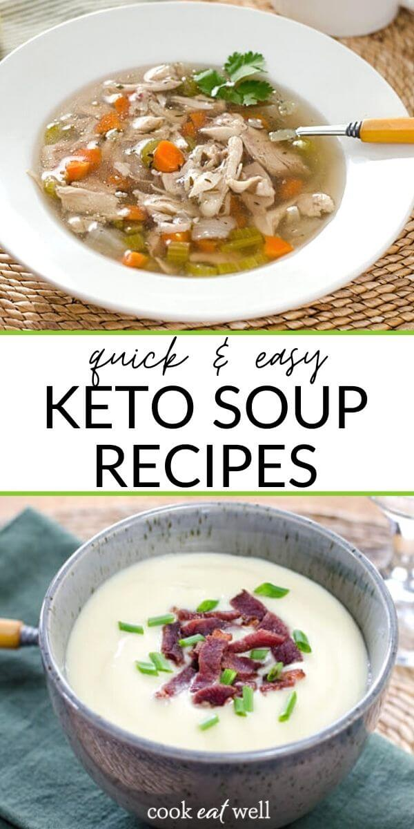 17 Healthy Keto Soup Recipes For Easy Meals