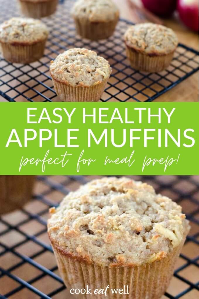 Easy Paleo Apple Muffins